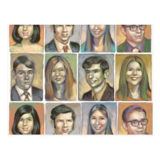 Yearbook Photos Poscard Postcard