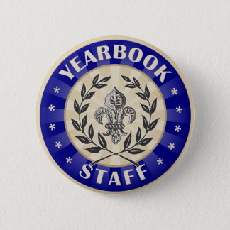 Yearbook Staff 2 Inch Round Button
