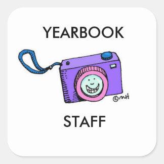 YEARBOOK STAFF STICKER