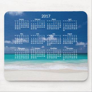 Yearly Beach Calendar 2017 Mousepads Add Photo