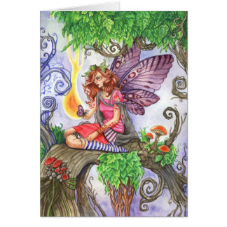 Yearning Fairy Greeting Card