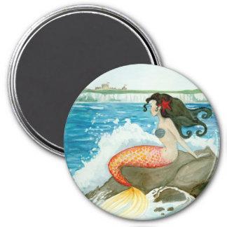 Yearning Litlle Mermaid Art Magnet