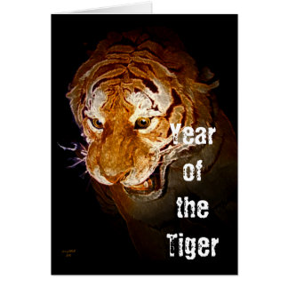 Yearr of the Tiger Card