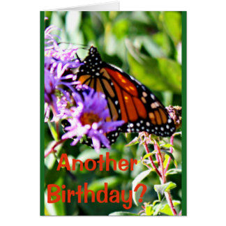 Years Really Flutterby Card With Butterfly