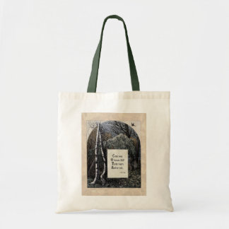 """Yeats """"The Stolen Child"""" Victorian Tote Bag"""
