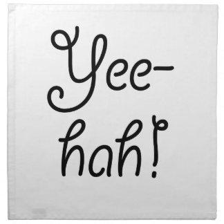 Yee-hah! Napkin