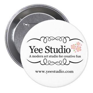 Yee Studio 3 Inch Round Button