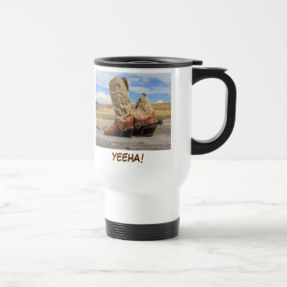 Yeeha Western Boot Travel Mug