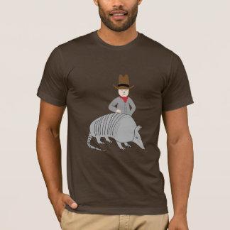 Yeehaw!  Cowboy and Armadillo! T-Shirt