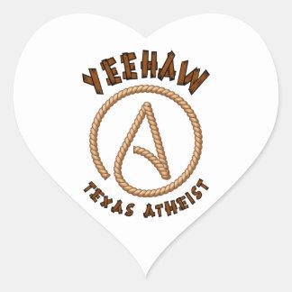 Yeehaw! Heart Sticker