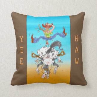 Yeehaw Pillow