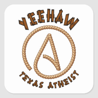 Yeehaw! Square Sticker