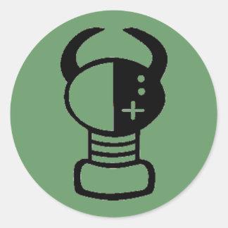 Yei dot classic round sticker