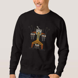 YeiBeiChei Embroidered Sweatshirt