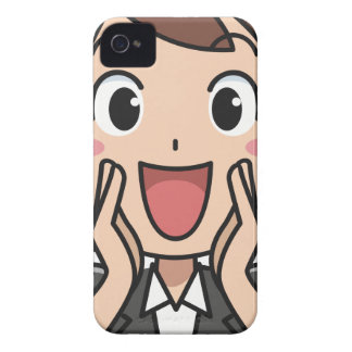 Yelling Woman iPhone 4 Cover