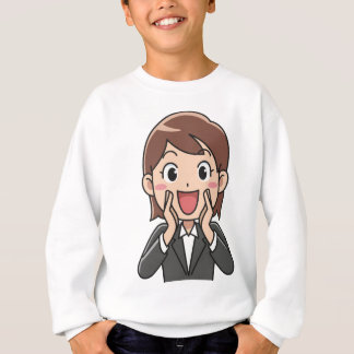 Yelling Woman Sweatshirt
