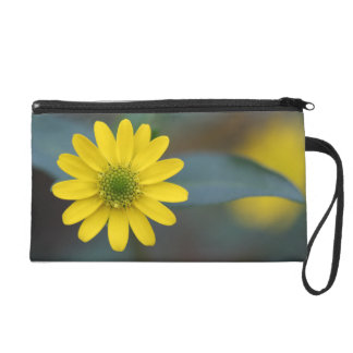 Yello Flower Wristlet