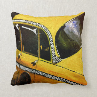 Yello Taxi Pillow