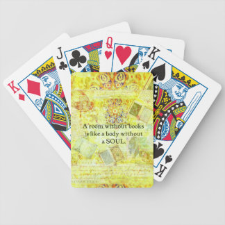 yellow45 bicycle playing cards