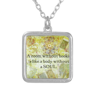 yellow45 silver plated necklace