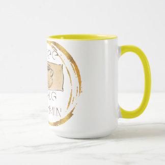 yellow 15 oz Combo Mug