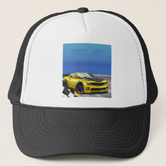Yellow_1LE Trucker Hat