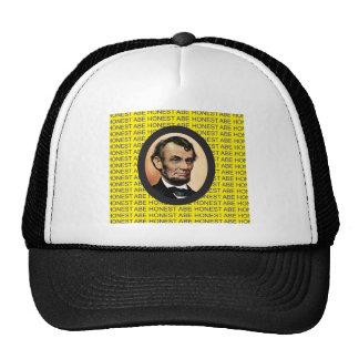 yellow Abe background Trucker Hat