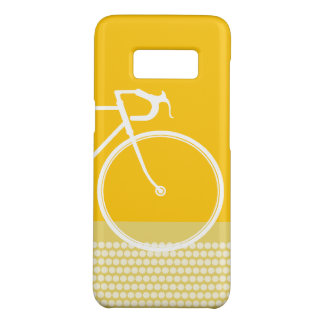 Yellow Abstract Bicycle dots Case-Mate Samsung Galaxy S8 Case
