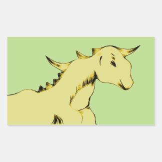 Yellow Alien Pony