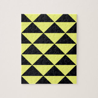 Yellow and Black Triangles Puzzle