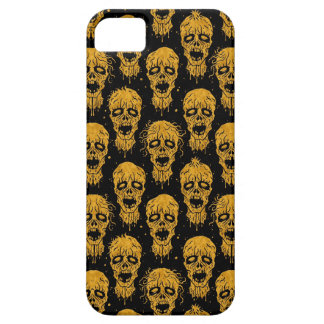 Yellow and Black Zombie Apocalypse Pattern iPhone 5 Cover