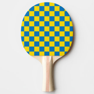 Yellow and blue - Swedish colour - Sweden Ping Pong Paddle
