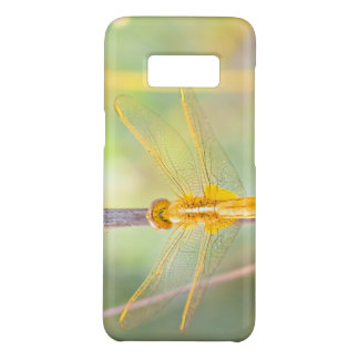 Yellow and Gold Colored Dragonfly Case-Mate Samsung Galaxy S8 Case