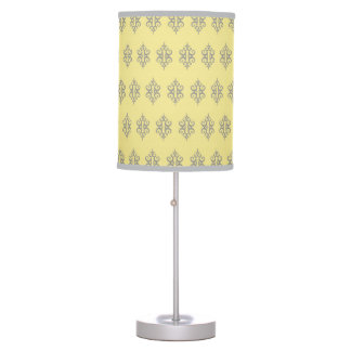 Yellow and Gray Lamp
