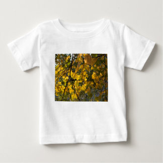 Yellow and green autumn leaves baby T-Shirt