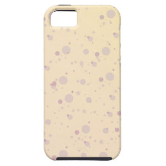 Yellow and Lavender Sprinkle Stars Case For The iPhone 5