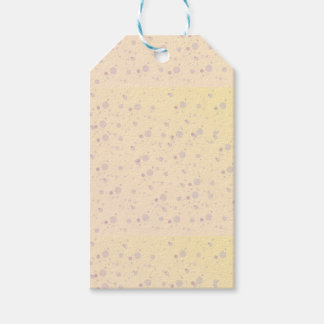 Yellow and Lavender Sprinkle Stars Gift Tags