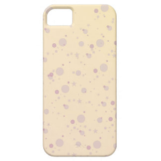 Yellow and Lavender Sprinkle Stars iPhone 5 Cases