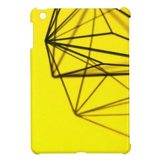 Yellow and Metal Geometric Design iPad Mini Cover