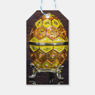 Yellow and Orange egg Gift Tags