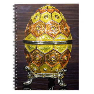 Yellow and Orange egg Notebook