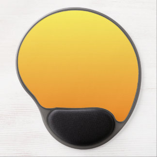 """""""Yellow And Orange Ombre"""" Gel Mouse Pad"""