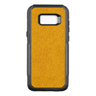 Yellow and Orange Snake Skin Design OtterBox Commuter Samsung Galaxy S8+ Case