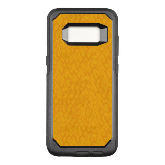 Yellow and Orange Snake Skin Pattern OtterBox Commuter Samsung Galaxy S8 Case
