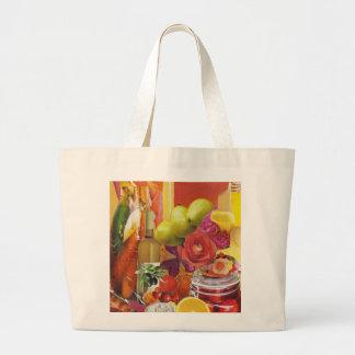 Yellow and Orange Tote Bag