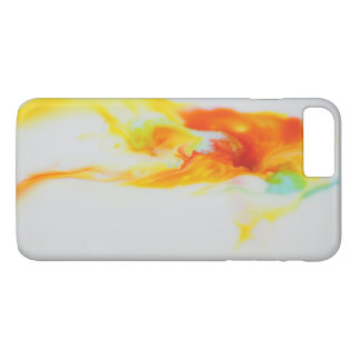 Yellow and orange watercolor background iPhone 8 plus/7 plus case