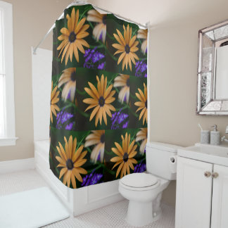 Yellow and Purple Floral
