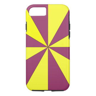 yellow and purple iPhone 7 case