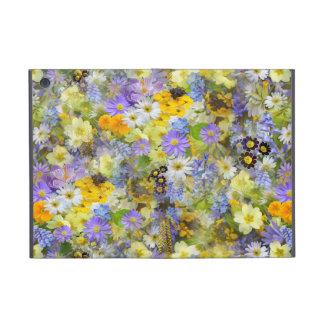 Yellow and Purple Spring Flowers iPad Mini Case