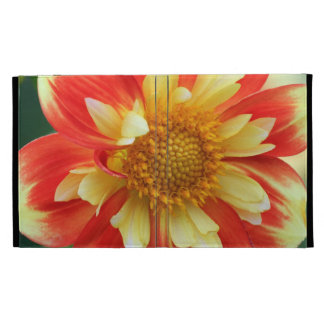 Yellow and Red Flower mf iPad Case